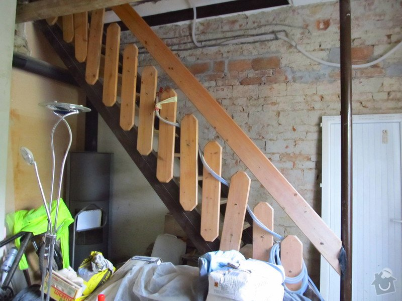 Provizorni stavebni schodiste: schody1