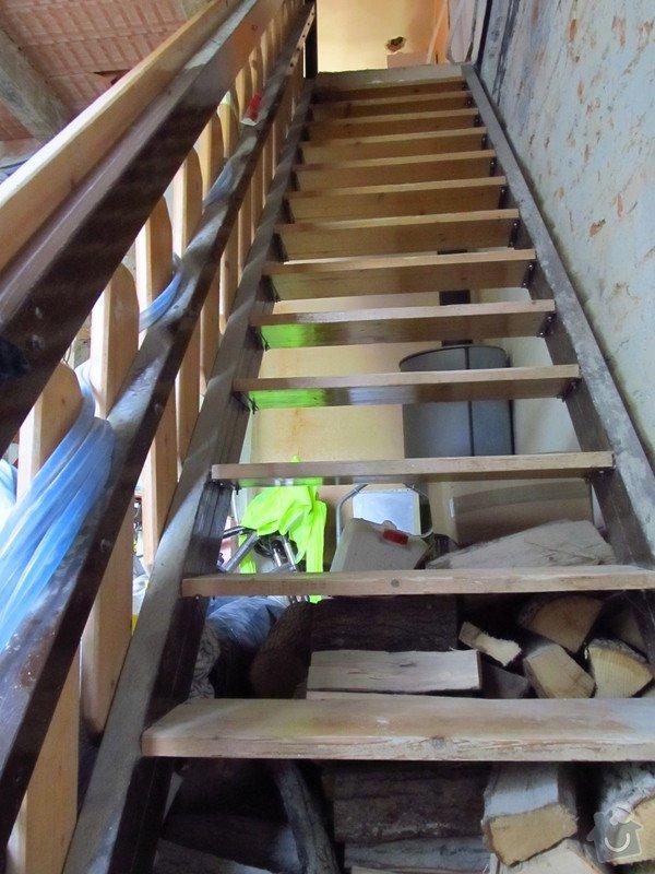 Provizorni stavebni schodiste: schody2