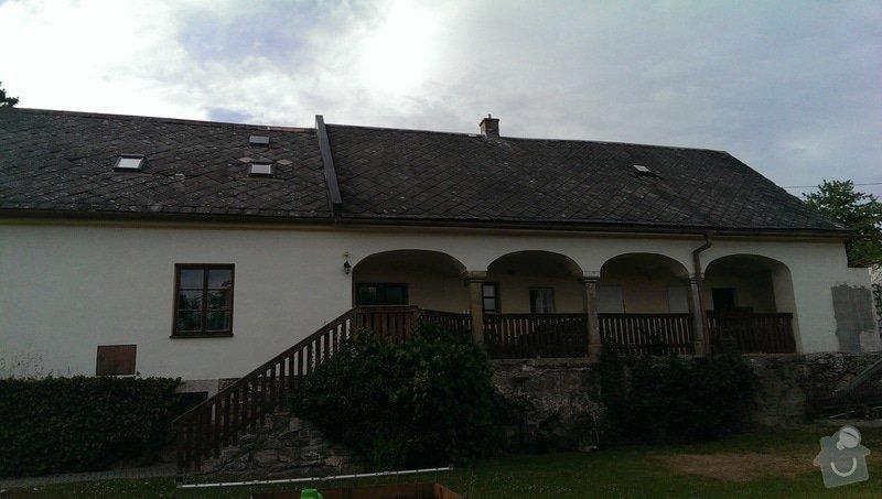 Rekonstrukce střechy - obec Nemile, Zábřeh na Moravě: IMAG0620