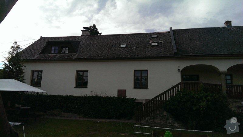 Rekonstrukce střechy - obec Nemile, Zábřeh na Moravě: IMAG0621