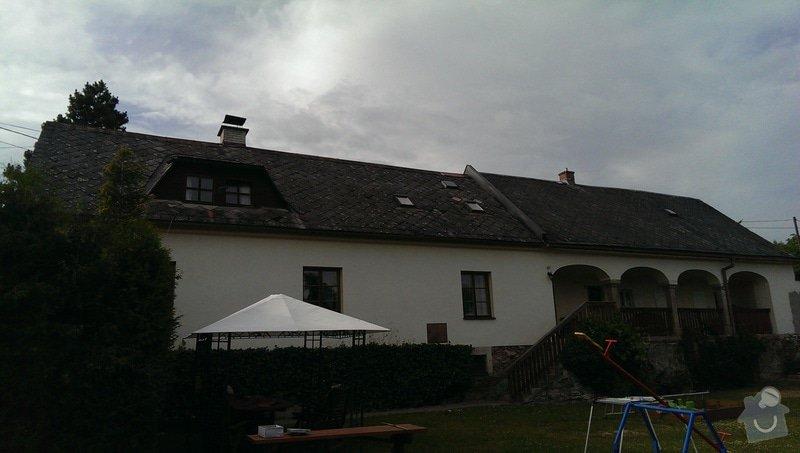 Rekonstrukce střechy - obec Nemile, Zábřeh na Moravě: IMAG0622