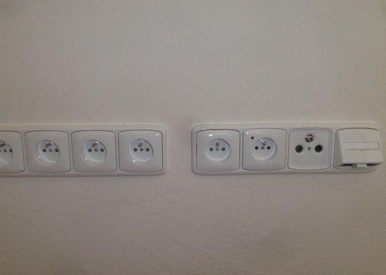 Nová elektroinstalace rodinného domu