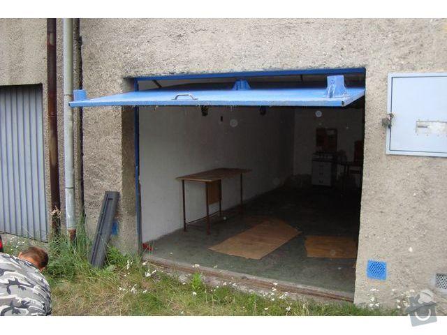 Výměna zámků na garážových vratech: garaz_1
