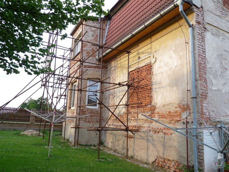Zateplení fasády: P1070016