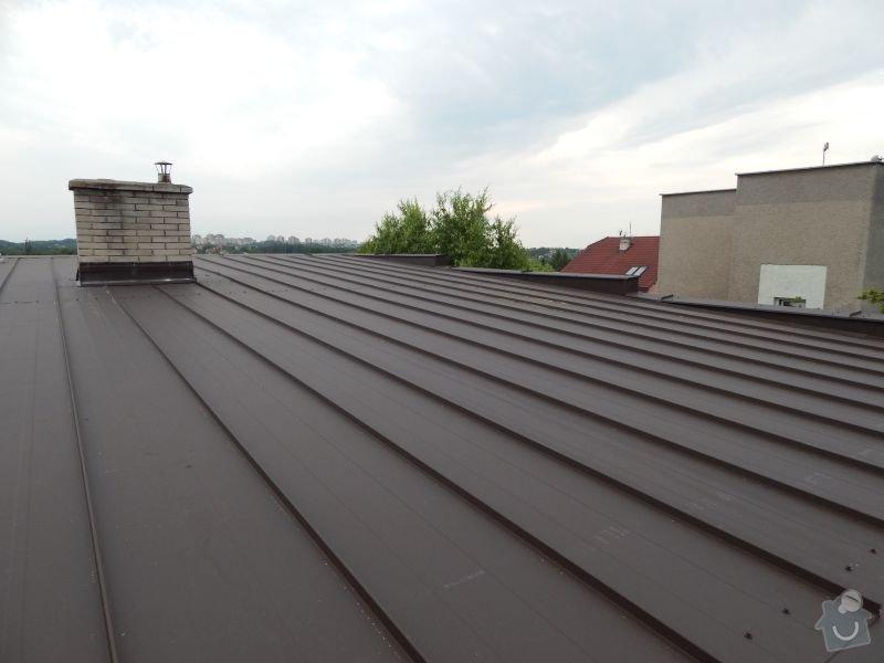 Oprava skoro rovné střechy: DSCN0938