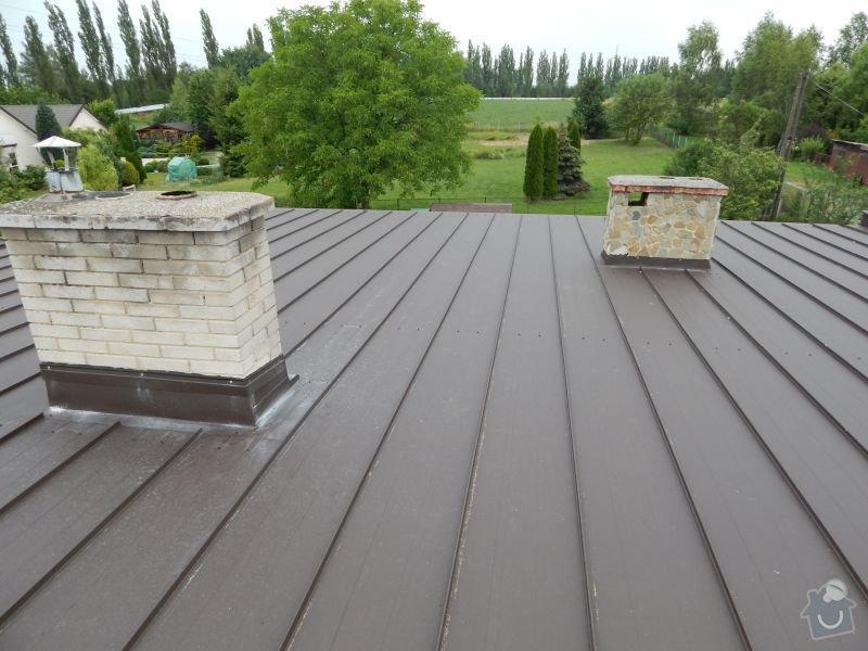 Oprava skoro rovné střechy: DSCN0945