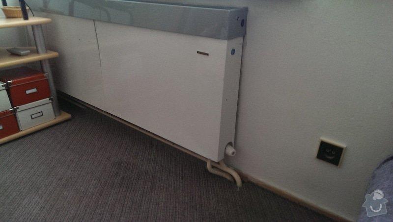 Výměna radiátorů (5ks) + termostatické hlavice: Obyvaji_pokoj_1