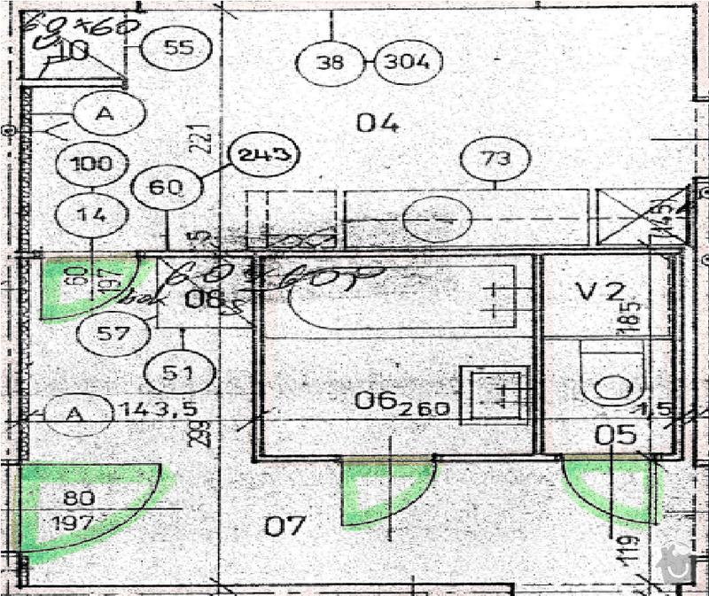 Přestavba bytového jádra: jadro_nakres