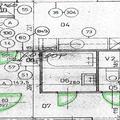 Prestavba bytoveho jadra jadro nakres