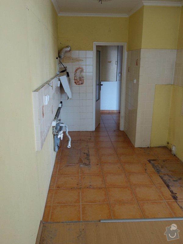 Odstranení podlahy dlaždic 13 m2: DSC07028