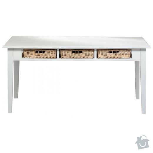 Výroba nábytku Provence: stul