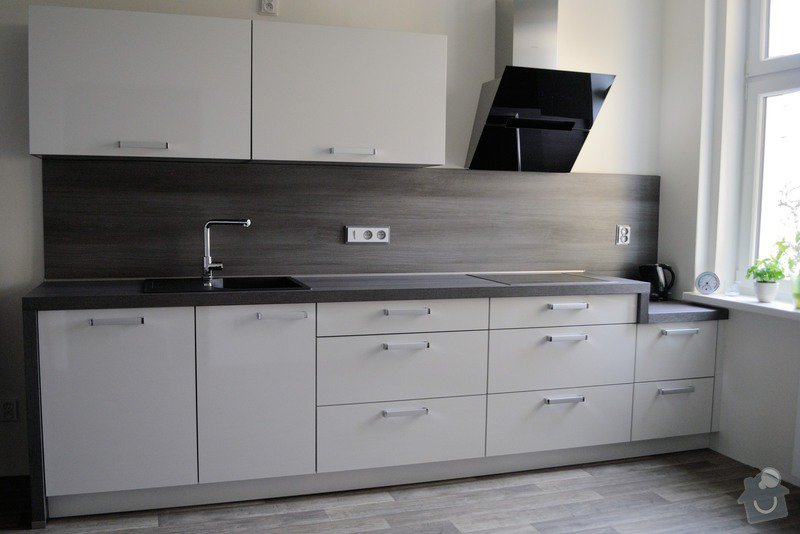 Kuchyně do staršího bytového domu, Plzeň: DSC_3276