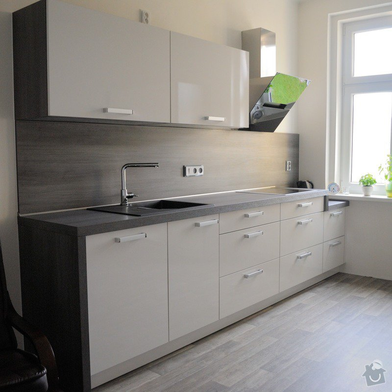 Kuchyně do staršího bytového domu, Plzeň: DSC_3282