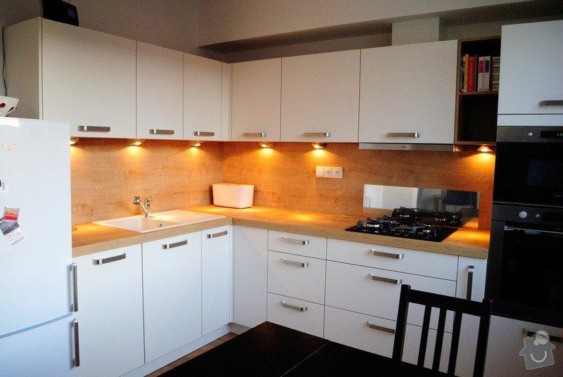 Kuchyně do panelového domu pro mladý pár, Plzeň: DSC_2968