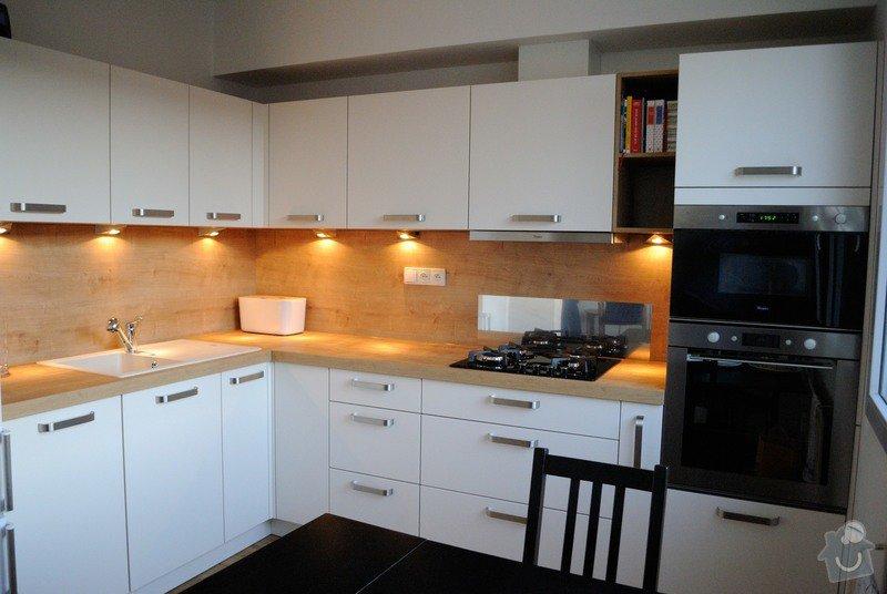 Kuchyně do panelového domu pro mladý pár, Plzeň: DSC_2969