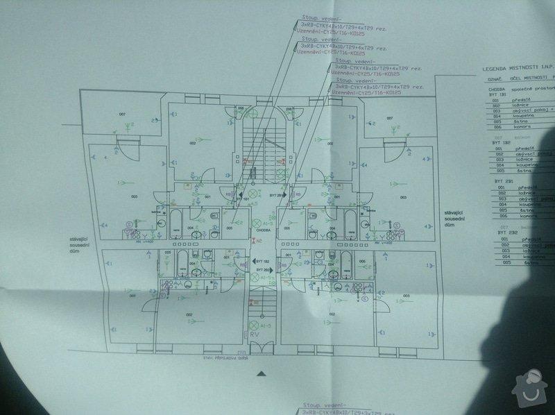 Elektroinstalace kopletní v bytové jednotce 58m2: elektro_1