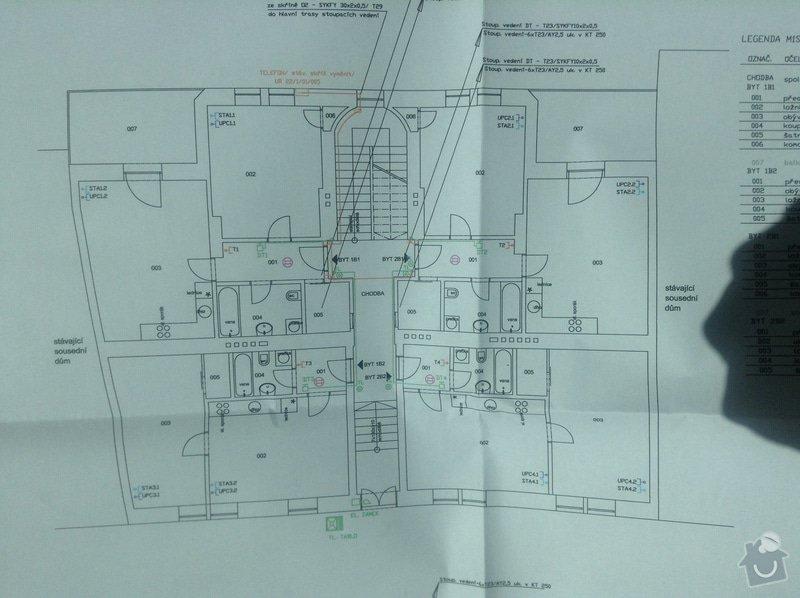 Elektroinstalace kopletní v bytové jednotce 58m2: elektro_2