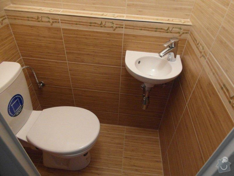 Rekonstrukce koupelny,WC a kuchyně : SAM_1545