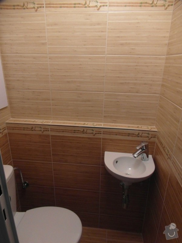 Rekonstrukce koupelny,WC a kuchyně : SAM_1546