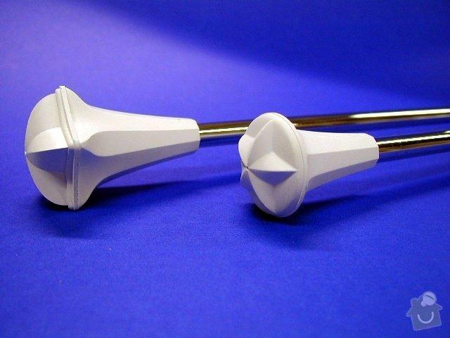 Výroba koncovek pro mažoretkové hůlky - dlouhodobá spolupráce: hulka_twirl
