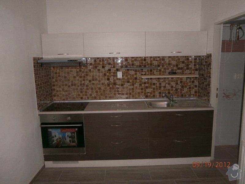 Kuchyn + koupelna + dlažba: P9190038
