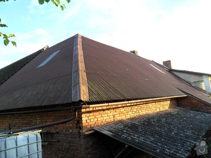 Rekonstrukci střechy: SAM_1790