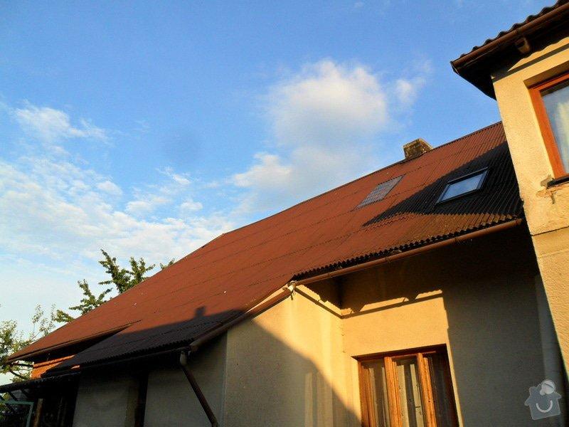 Rekonstrukci střechy: SAM_1789