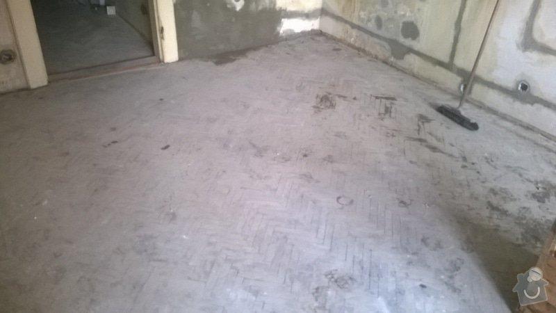 Rekonštrukcia trámovej podlahy+pokladka novej drevenej podlahy: WP_20140630_001