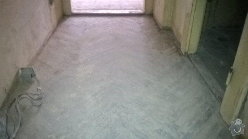 Rekonštrukcia trámovej podlahy+pokladka novej drevenej podlahy: WP_20140630_010