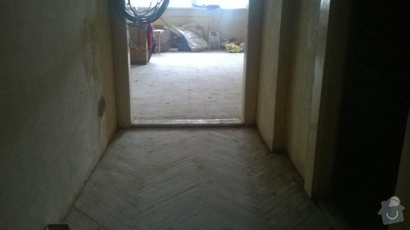 Rekonštrukcia trámovej podlahy+pokladka novej drevenej podlahy: WP_20140630_011