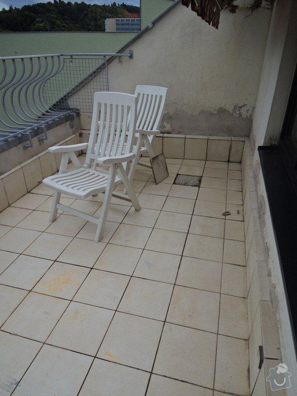 Poptávka rekonstrukce terasy Brno Křížkovského SVJ: DSCN9781