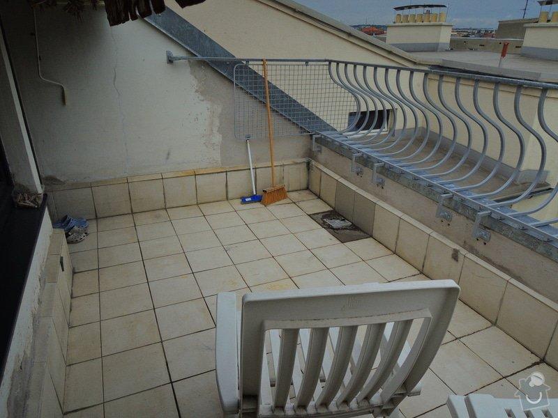 Poptávka rekonstrukce terasy Brno Křížkovského SVJ: DSCN9782