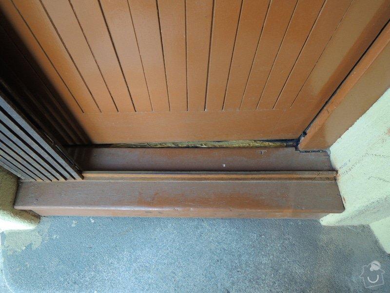 Rekonstrukce vchodových dveří pro kancelář: DSCN1960