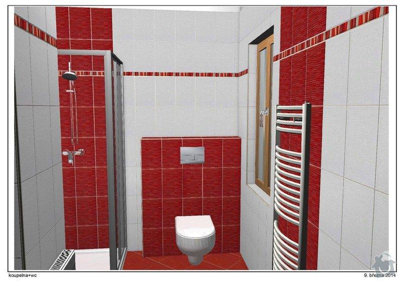 Rekonstrukce koupelny: 3.2