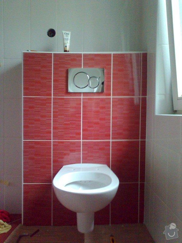 Rekonstrukce koupelny: Fotografie1564