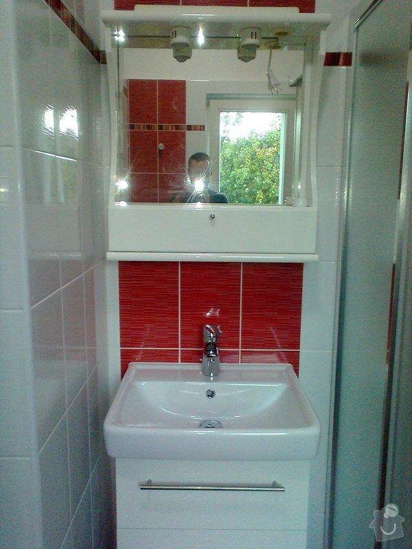 Rekonstrukce koupelny: Fotografie1580