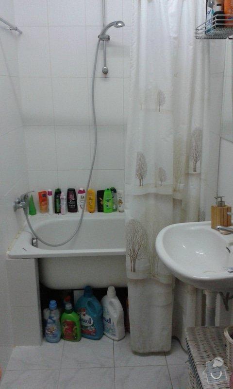 Rekonstrukce koupelny Olomouc: 20140701_192136