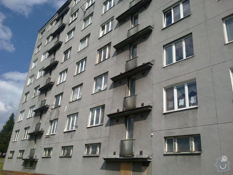 Zateplení části panelového domu: 01072014242