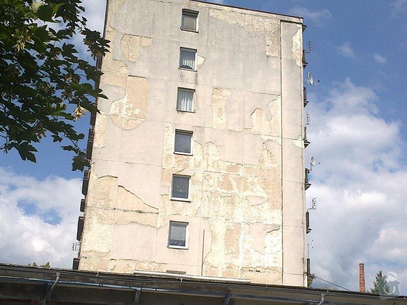 Zateplení části panelového domu: 01072014240