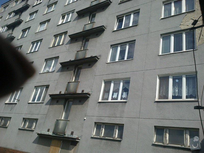 Zateplení části panelového domu: 01072014241