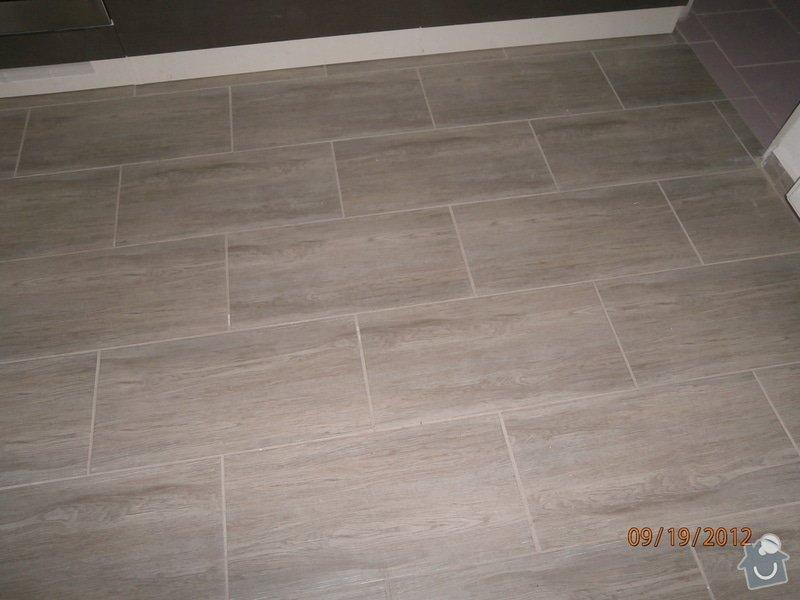 Kuchyn + koupelna + dlažba: dlazba_P9190039