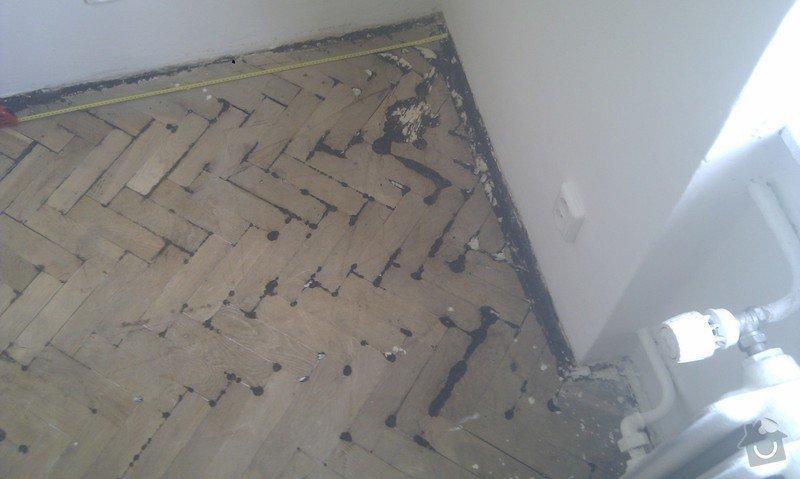 Vyřešit problém dřevěné podlahy lepené v asfaltu:32m2: LozniceIMAG2349