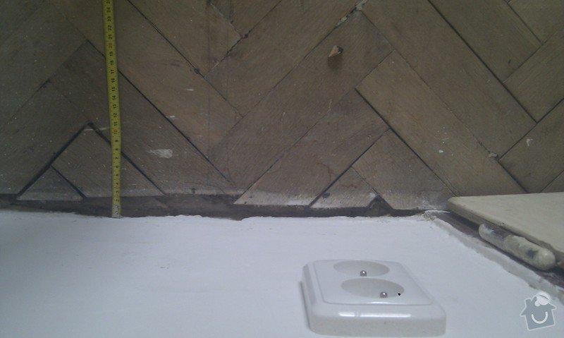 Vyřešit problém dřevěné podlahy lepené v asfaltu:32m2: LozniceIMAG2355