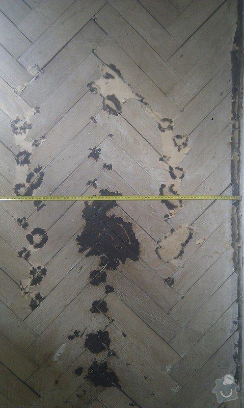 Vyřešit problém dřevěné podlahy lepené v asfaltu:32m2: ObyvakIMAG2341
