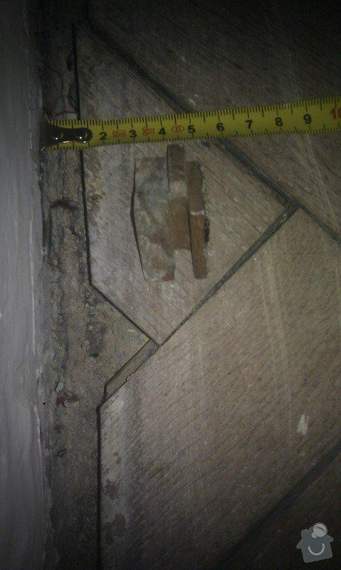 Vyřešit problém dřevěné podlahy lepené v asfaltu:32m2: ObyvakIMAG2344