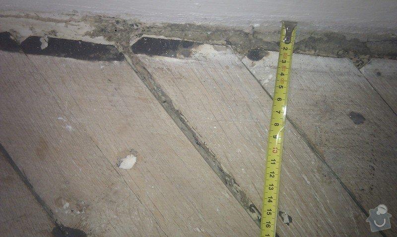 Vyřešit problém dřevěné podlahy lepené v asfaltu:32m2: ObyvakIMAG2339