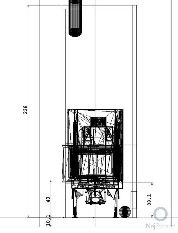 Teplovzdušný krb.: celni