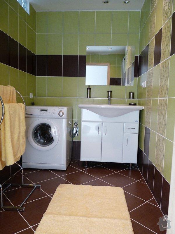 Úprava a výměna dveří , rekonstrukce koupelny : P1070278