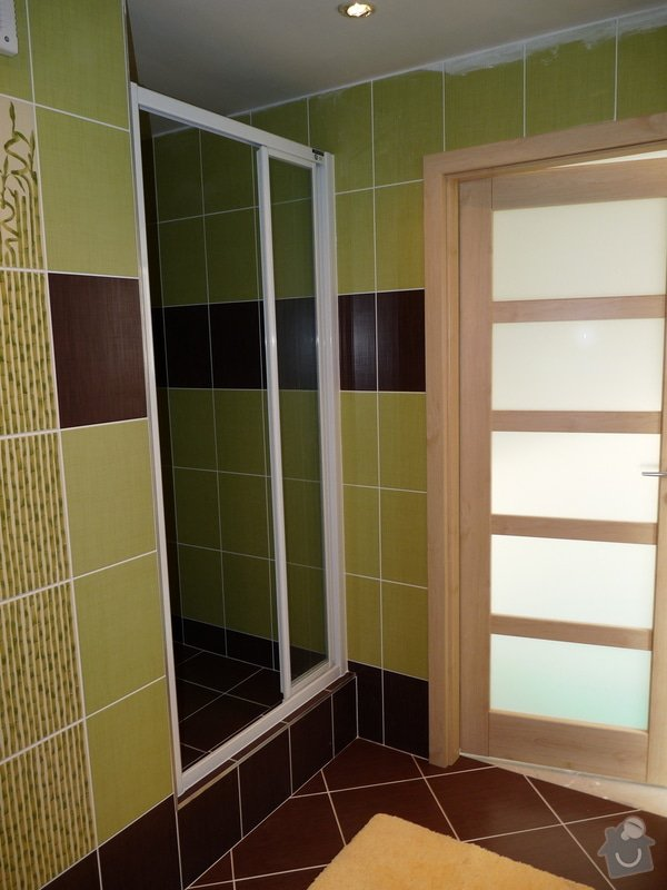 Úprava a výměna dveří , rekonstrukce koupelny : P1070284
