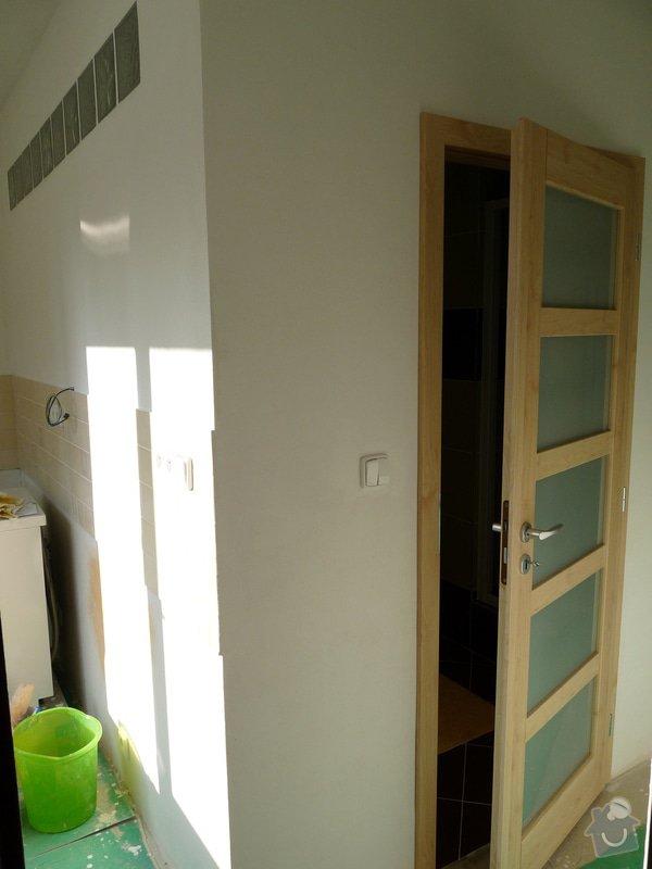 Úprava a výměna dveří , rekonstrukce koupelny : P1070295
